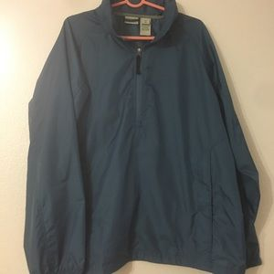 LL Bean blue windbreaker.  No flaws - like new!!